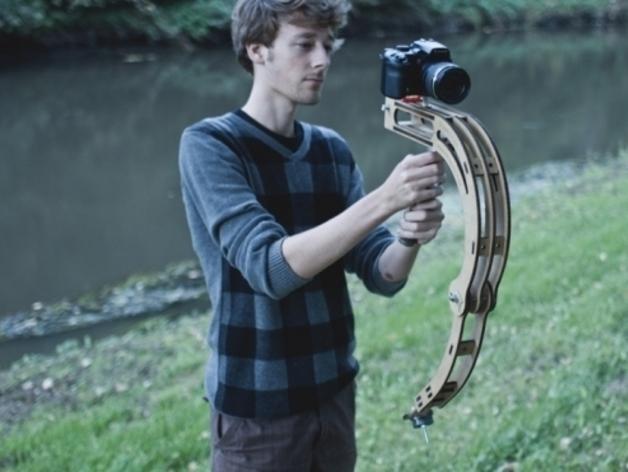 摄影机稳定器 3D模型  图3