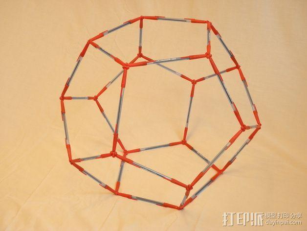 多面体镂空小球 3D模型  图4