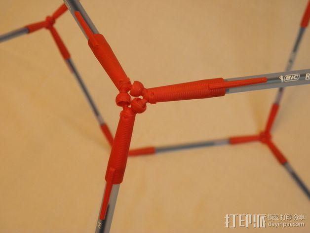 多面体镂空小球 3D模型  图3