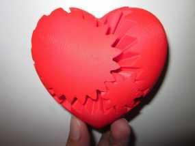 心形齿轮 3D模型