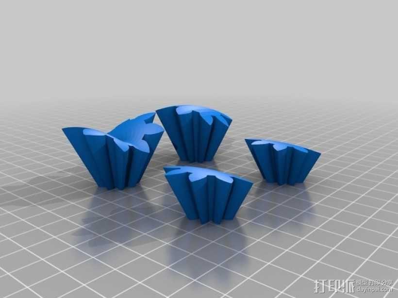 心形齿轮 3D模型  图7
