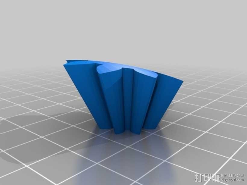 心形齿轮 3D模型  图10