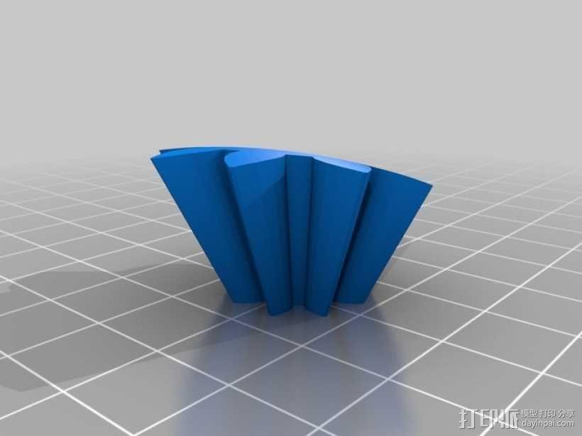 心形齿轮 3D模型  图11