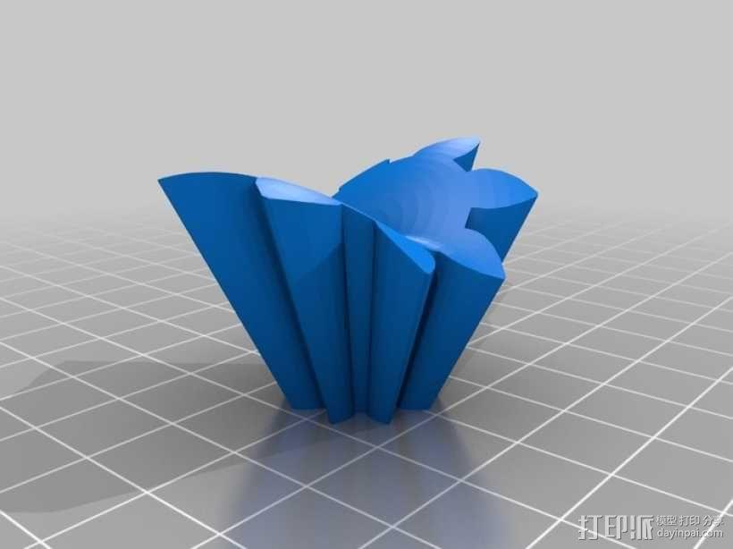 心形齿轮 3D模型  图12