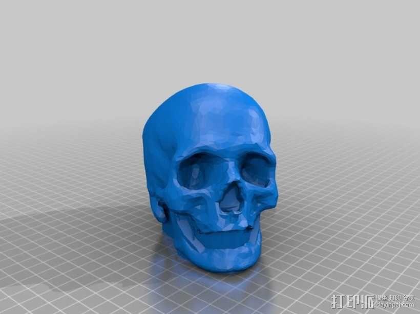 骷髅头 3D模型  图5