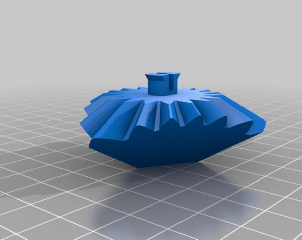 方形立方体齿轮 3D模型  图5