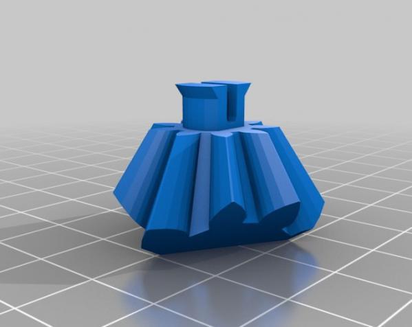 方形立方体齿轮 3D模型  图7