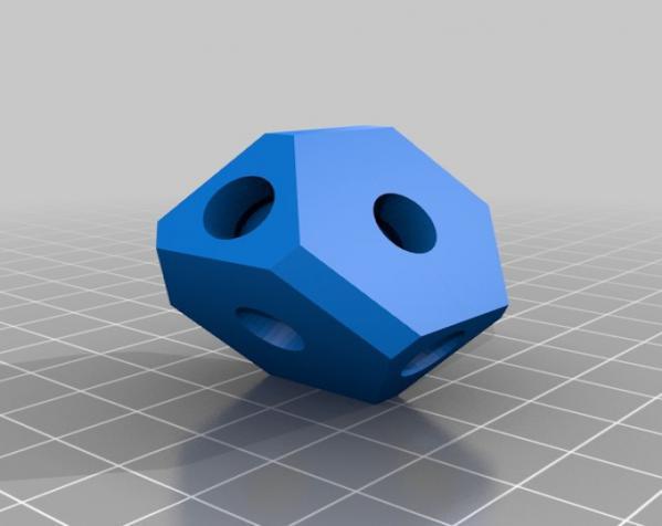 方形立方体齿轮 3D模型  图6