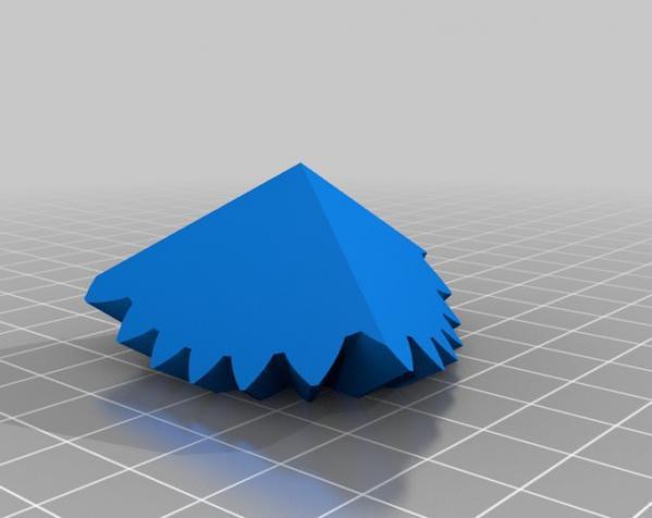 方形立方体齿轮 3D模型  图9