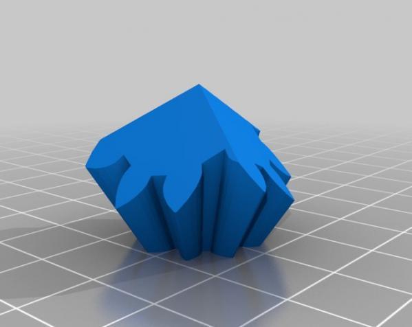 方形立方体齿轮 3D模型  图8