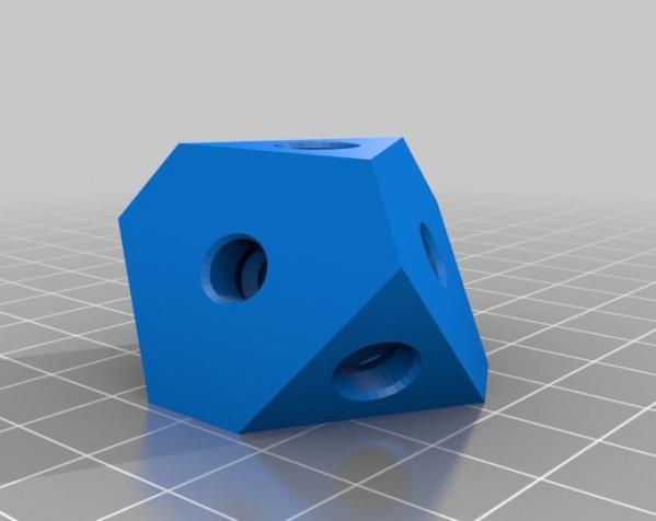 方形立方体齿轮 3D模型  图11