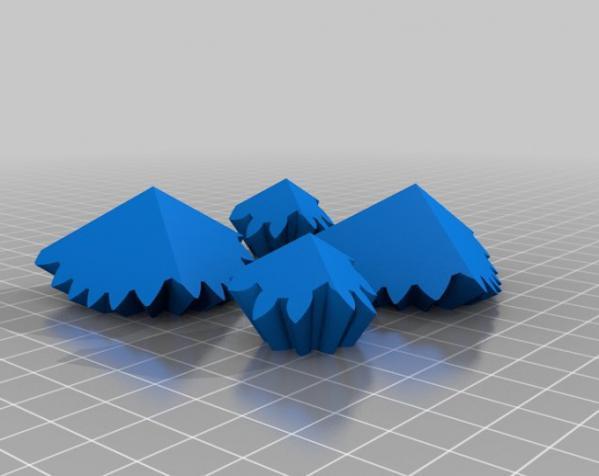 方形立方体齿轮 3D模型  图13