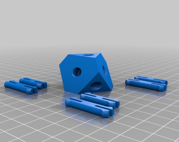 方形立方体齿轮 3D模型  图12