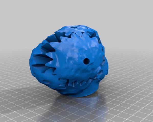 史蒂芬·科尔伯特头像 3D模型  图8