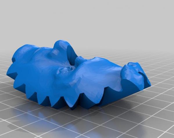 史蒂芬·科尔伯特头像 3D模型  图14