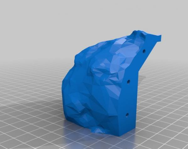 Makerbot创始人Bre Pettis头像 3D模型  图2