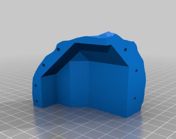 Makerbot创始人Bre Pettis头像 3D模型  图1