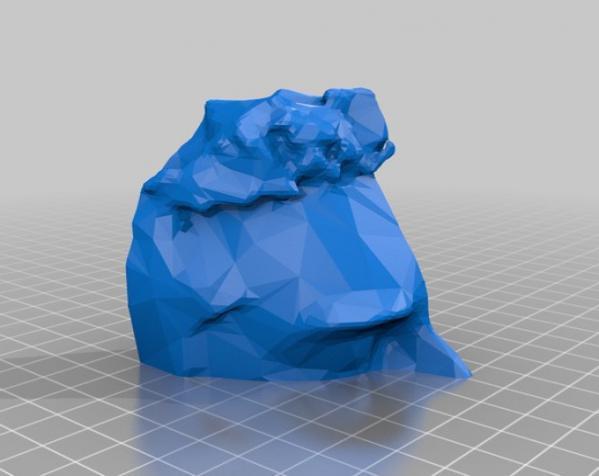 Makerbot创始人Bre Pettis头像 3D模型  图4