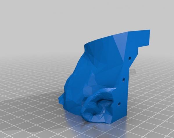 Makerbot创始人Bre Pettis头像 3D模型  图6