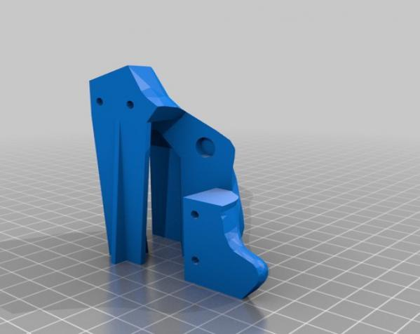 Makerbot创始人Bre Pettis头像 3D模型  图7
