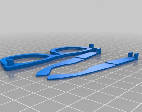 Makerbot创始人Bre Pettis头像 3D模型  图9