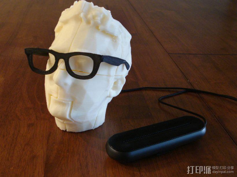 Makerbot创始人Bre Pettis头像 3D模型  图11