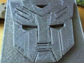 变形金刚徽章 3D模型