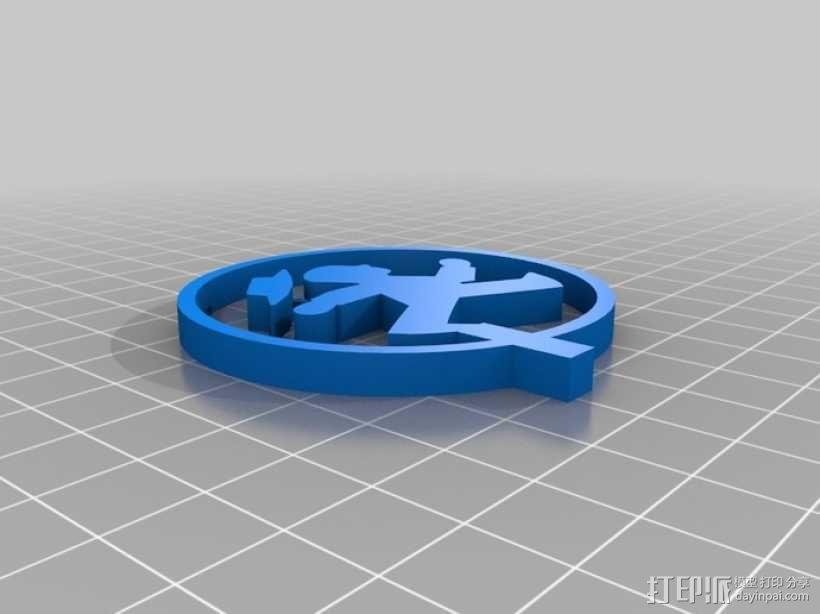 游戏赢家奖杯 3D模型  图5