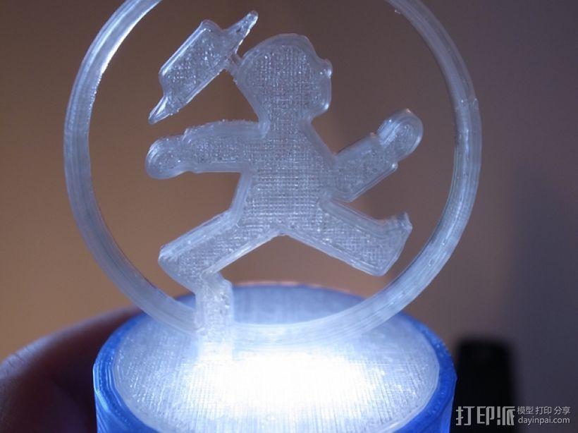 游戏赢家奖杯 3D模型  图8