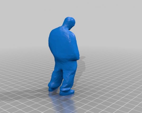 歹徒 3D模型  图2