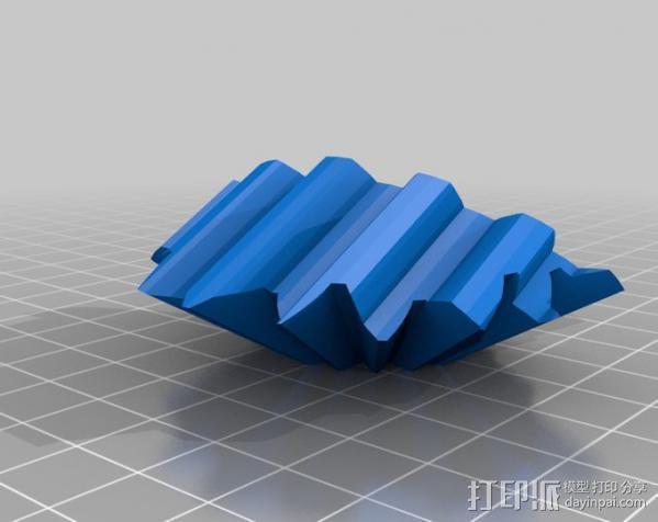 圆柱形齿轮 3D模型  图9