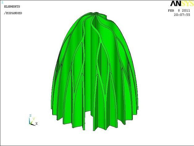 垂柳Rev 0 3D模型  图2