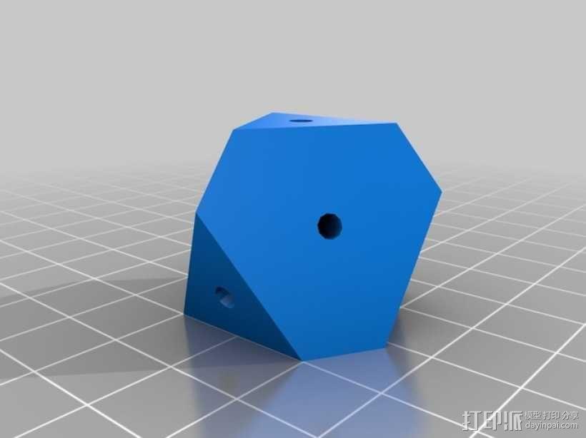 齿轮重量存储方块 3D模型  图3