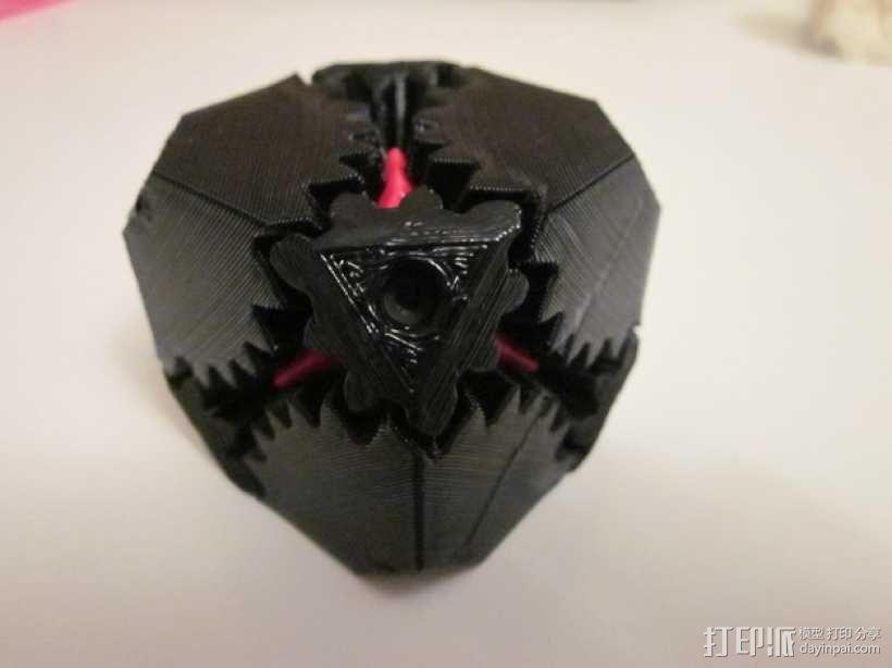 齿轮立方体 3D模型  图1