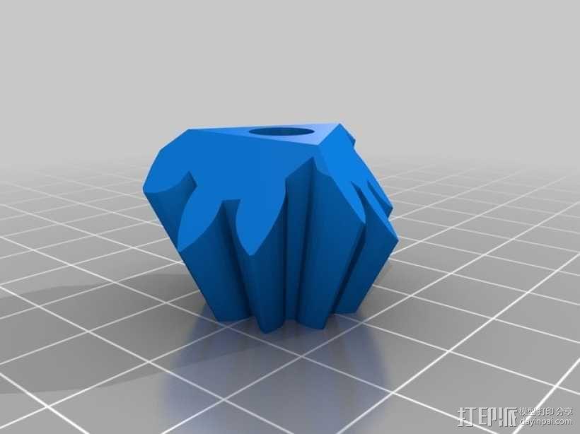 齿轮立方体 3D模型  图3