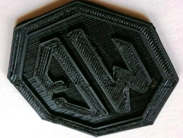 MG名爵汽车标志 3D模型  图4