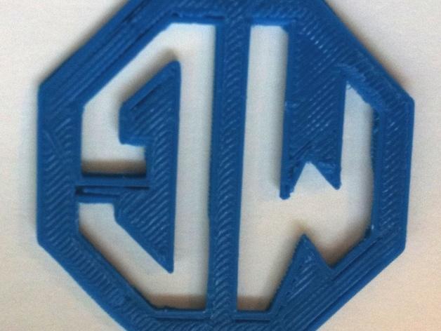 MG名爵汽车标志 3D模型  图5