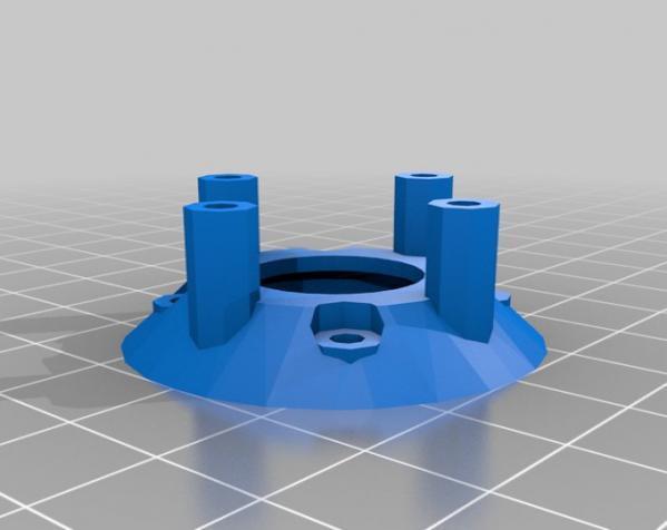 橡皮筋齿轮装置 3D模型  图5