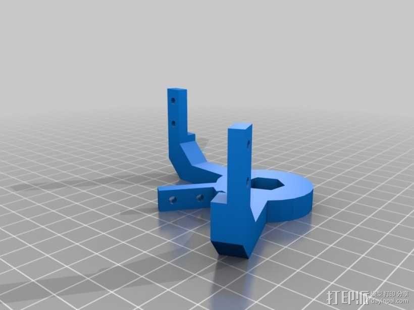 橡皮筋齿轮装置 3D模型  图17