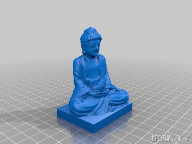 佛陀 3D模型  图2