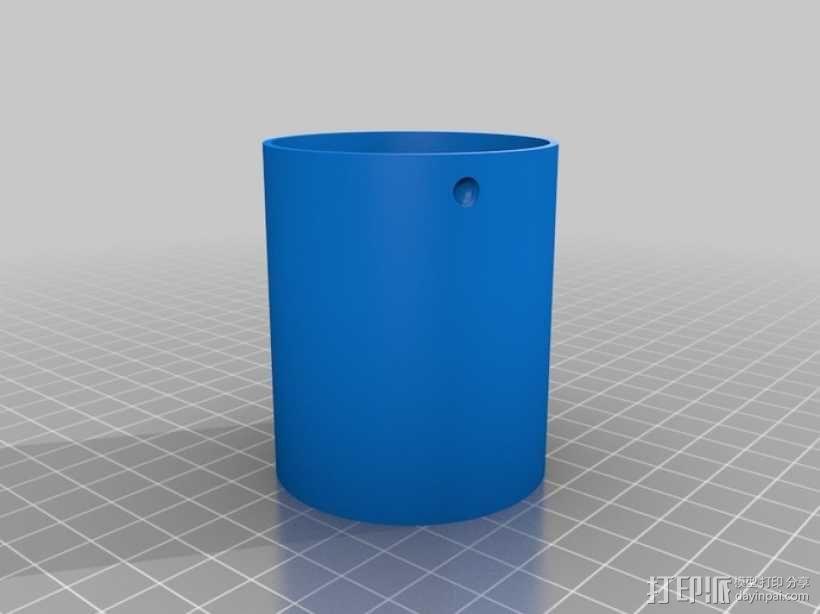 圆形迷宫筒 3D模型  图5