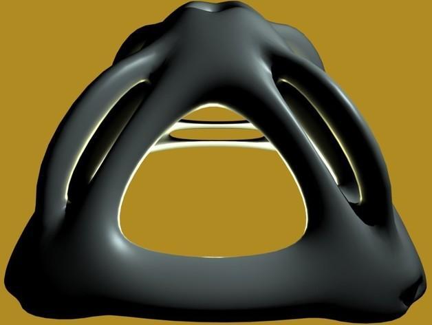 自行车头盔 3D模型  图3
