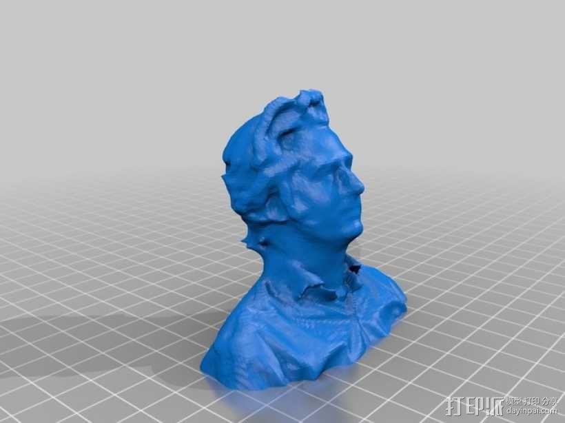 普通大众头像 3D模型  图6