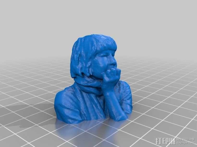 普通大众头像 3D模型  图9