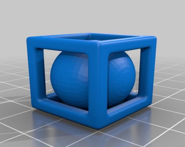 小球立方体 3D模型  图5