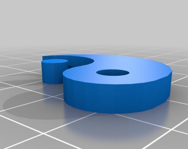 阴阳 3D模型  图2