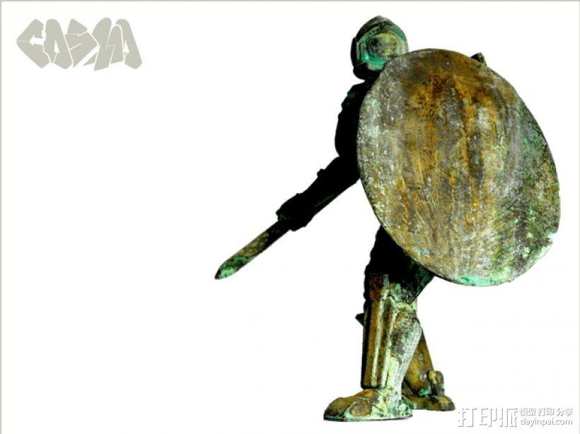 宇航员角斗士 3D模型  图3