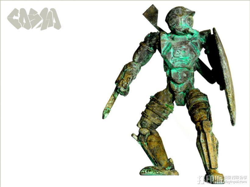 宇航员角斗士 3D模型  图4