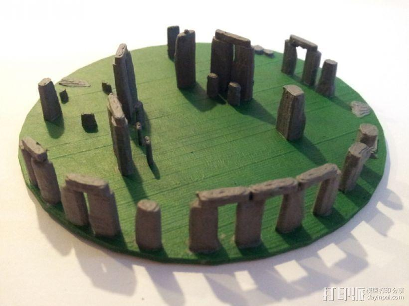 迷你巨石阵 3D模型  图1