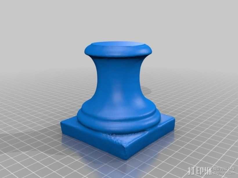 大尺寸萨福头像 3D模型  图4